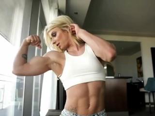 Kalli Sheppard sexy muscle FBB girl 2