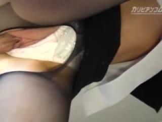 stewardess pantyhose fuck